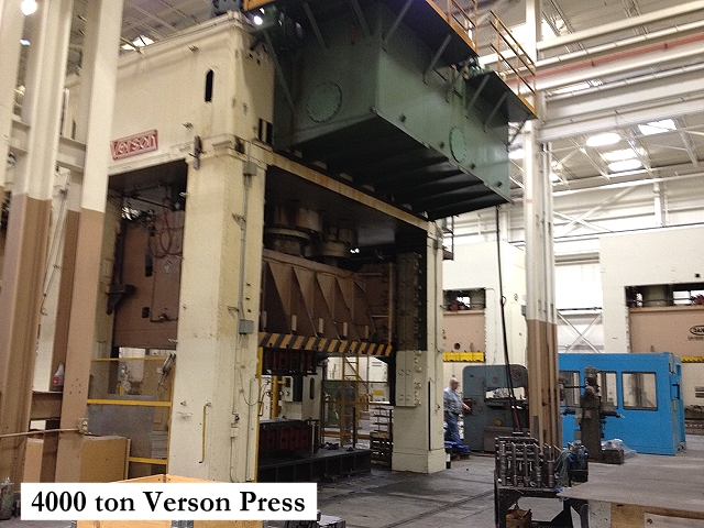 Paramount current equipment listings