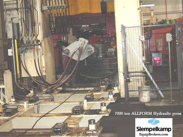 Used 8000 Ton AP&T and a Pre-Owned Siempelkamp 7800 ton