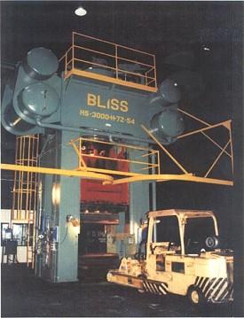 3000 Ton Bliss Hydraulic Press Model Hs 3000 72 54 Stock
