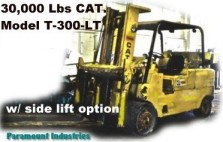 30,000 # CAT industrial lift truck