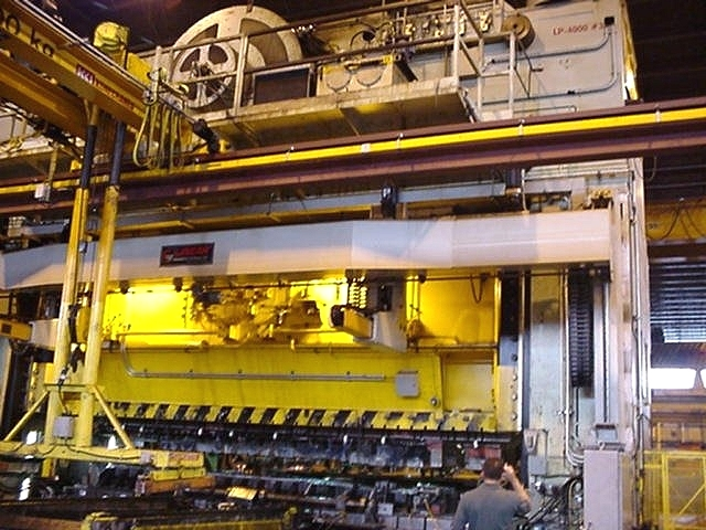 For Sale Used 2500 Ton Clearing Hydraulic Press 1967