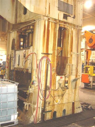 2000 2000 Ton Lake Erie Housing Type Hydraulic Press For